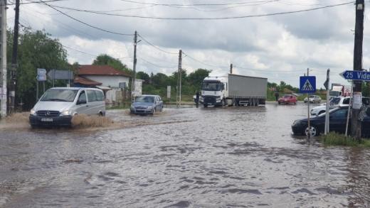 COD GALBEN de INUNDAȚII pe râurile din cinci județe, inclusiv Cluj