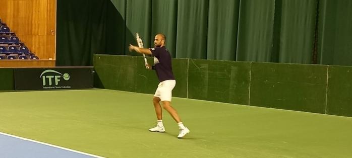 Marius Copil a restabilit egalitatea în meciul cu Portugalia, din Cupa Davis.