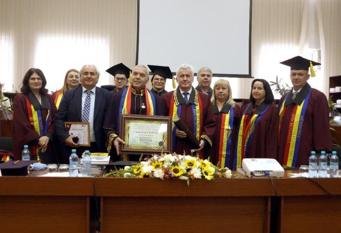 Constantin Chiriac, doctor honoris causa al Academiei de Științe Economice din Moldova. O nouă recunoaștere a contribuției în domeniul cultural