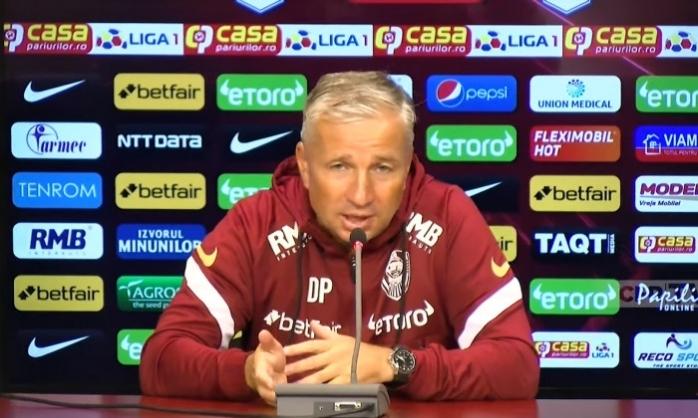 """Dan Petrescu, după CFR Cluj - UTA: """"A fost o victorie norocoasă, trebuie să recunoaștem""""."""