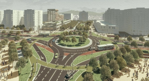 """Piața Mărăști capătă o nouă """"față"""". Cum se va schimba zona și traficul în cartier? FOTO."""