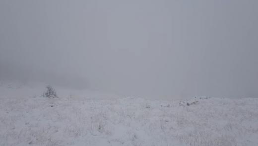 A nins ca-n povești la Vlădeasa! Imagini superbe surprinse de salvamontiștii clujeni. VIDEO